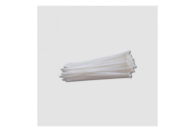 Vázací pásky  400x4,8mm, nylon, bílé