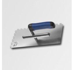 Hladítko 270x127mm zub.12 nerez