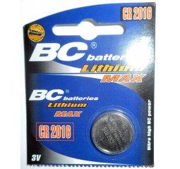 Baterie BC CR2016, 3V