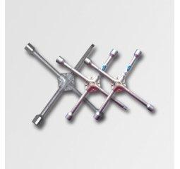 Křížový utahovák kol 17-19-21-23mm