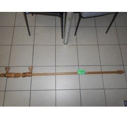 Dřevěná garnýž