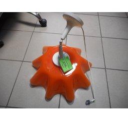 Lustr závěsný - oranžový