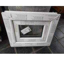 Okno plastové š.400/v.400 bílá/bílá, výklopné