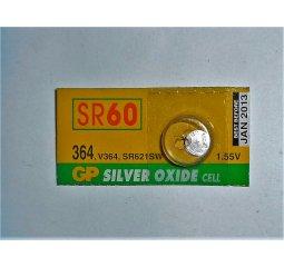 Baterie SR60, 1,55V