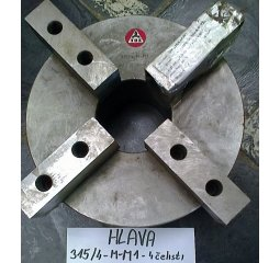 Čelisťové sklíčidlo 315/4-M-M1-4 čelisti