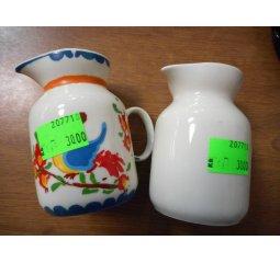 Nálevka na mléko porcelánová