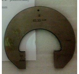 Třmenový kalibr jednostranný 63,33