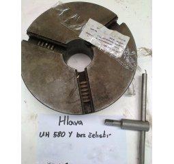 Čelisťové sklíčidlo UH 580 Y bez čelistí