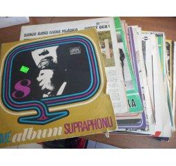 Gramofonové desky - různé druhy