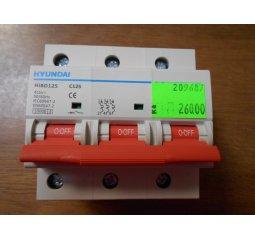Jistič HiBD125,3P,C125A,10kA
