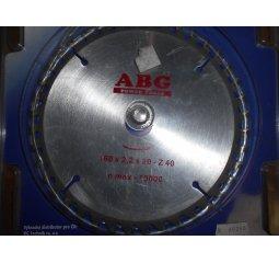 Pilový kotouč 160x2,2x20 - Z 40, n max - 10000