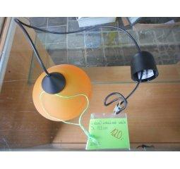 Lustr oranžový 17,3cm
