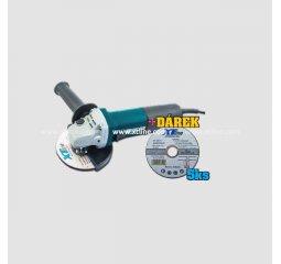 Úhlová bruska AG125, 125mm 840W + Dárek SARN12510 5ks