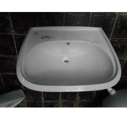 Umyvadlo bíle š61,5xh48,5 cm
