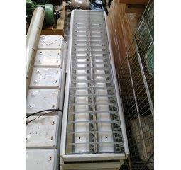 Zářivkové svítidlo 2 X 36W se stříbrnou mřížkou