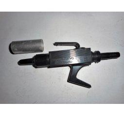 Vyfukovací pistole s ochrannou clonou