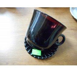 Šálek s talířkem - různé druhy