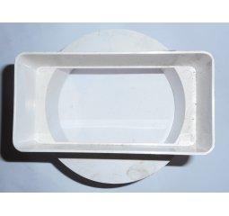 Plastová spojka pr. 98mm, 110x55mm